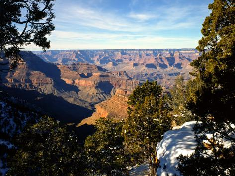 Canyon View From Moran Point, Grand Canyon National Park, Arizona, USA Photographic Print