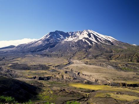 Mount St. Helens National Volcano Monument, Washington, USA Photographic Print