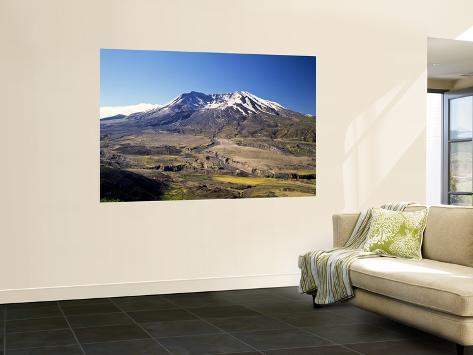 Mount St. Helens National Volcano Monument, Washington, USA Wall Mural