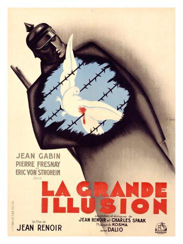 La Grande Illusion Giclee Print