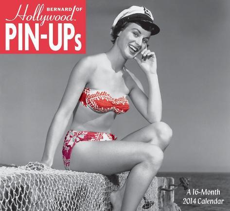Bernard of Hollywood Pin-Ups - 2014 Calendar Calendars
