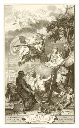 Atlas Historique Impressão giclée