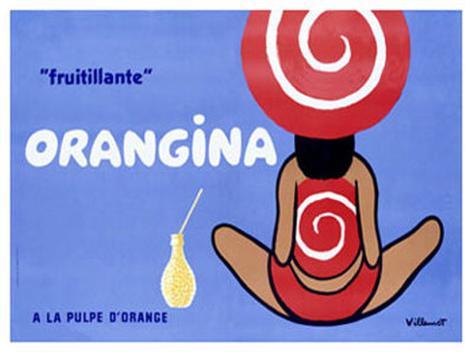 Orangina, Frutillante Giclee Print