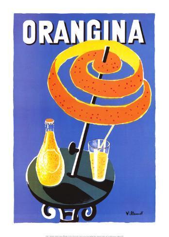 Orangina Art Print