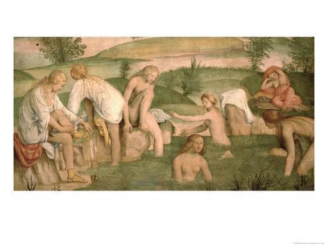 Bath of Psyche, 1520-23 Giclee Print