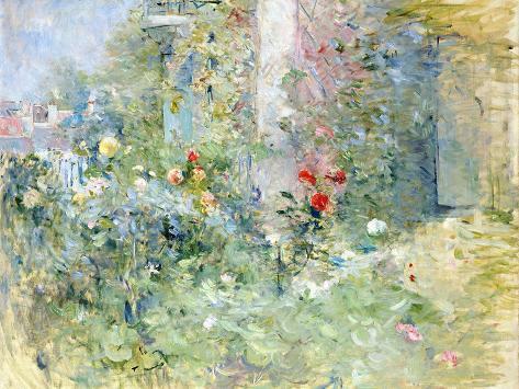 The Garden at Bougival, 1884 Lámina giclée