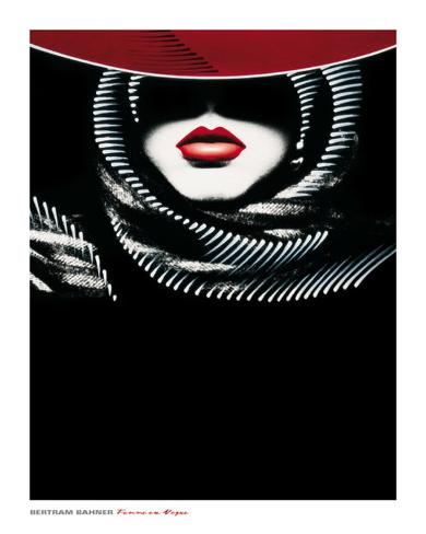 Femme en Vogue II Art Print