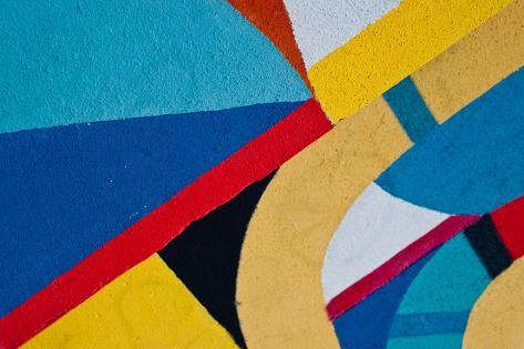 Street Art - Graffiti on the Wall Photographic Print