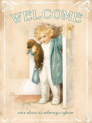 Welcome Giclee Print
