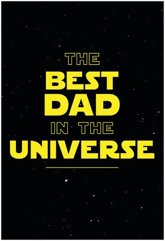 Best Dad in the Universe Poster