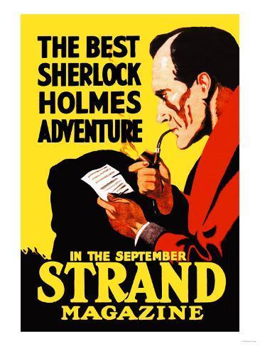 Best Sherlock Holmes Adventure Art Print