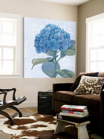 Blue Hydrangea IV Loft Art