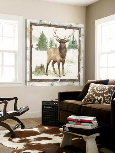 Family Cabin I Loft Art