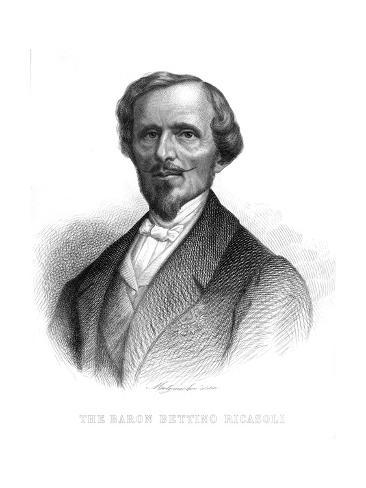 Bettino, Baron Ricasoli Giclee Print