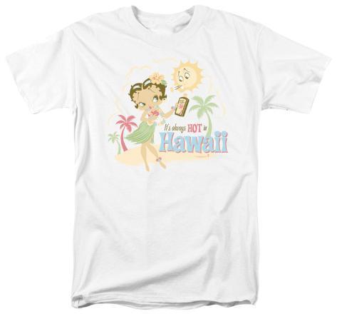 Betty Boop - Hot in Hawaii T-Shirt