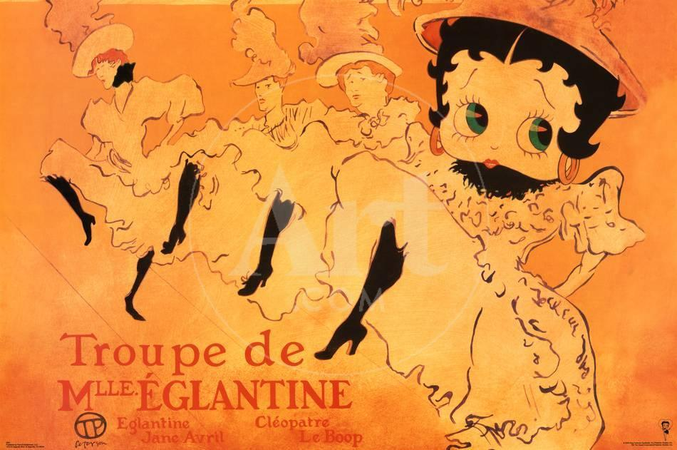 Betty Boop Movie (Troupe de Mlle. Eglantine) Poster Print Posters ...