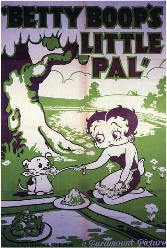 Betty Boop's Little Pal Poster