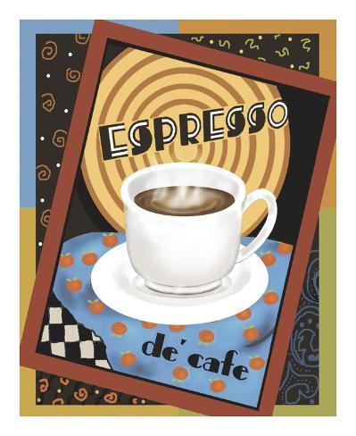 Espresso de Cafe Art Print
