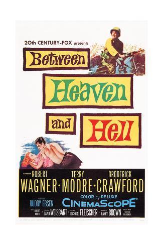 Between Heaven and Hell Lámina giclée