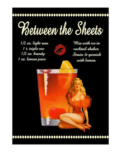 Between the Sheets Cocktail Giclee Print - at AllPosters ...