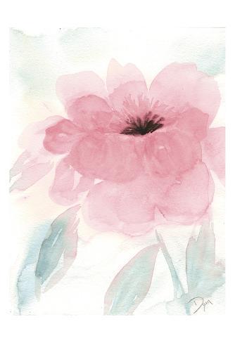 Blush Peony I Art Print