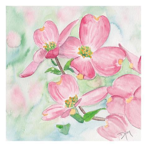 オールポスターズの beverly dyer pink dogwood i 高品質プリント