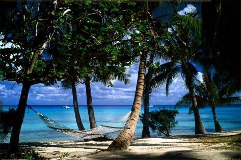 Tropical Retreat Poster