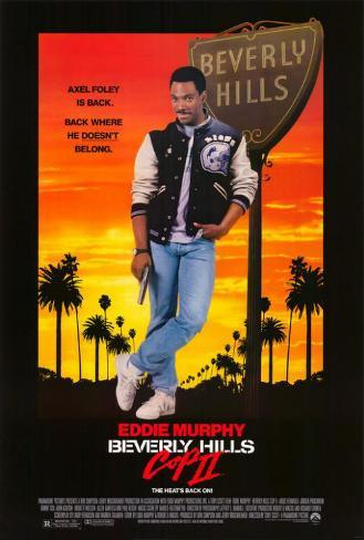Beverly Hills Cop 2 Poster