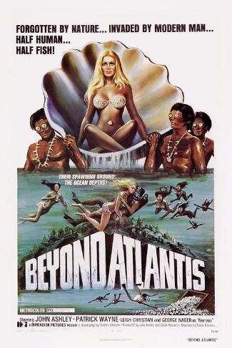 Beyond Atlantis Impressão artística