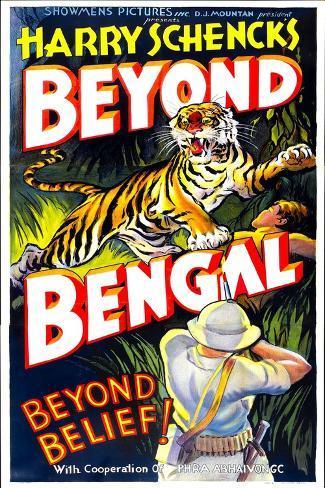 Beyond Bengal, 1934 Art Print
