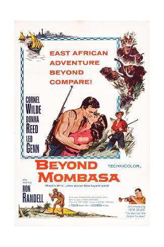 Beyond Mombasa Giclee Print