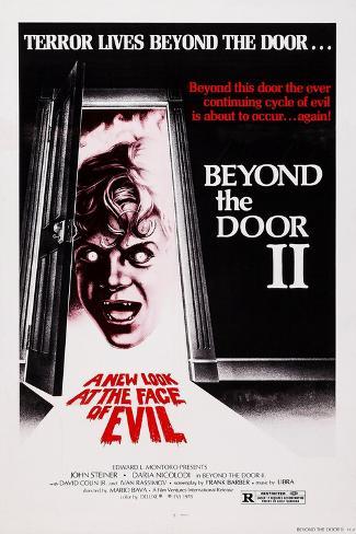 Beyond the Door II, (aka Schock), 1977 Lámina