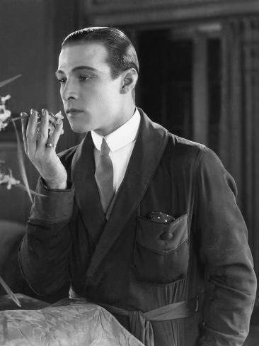 Beyond the Rocks, Rudolph Valentino, 1922 Photo