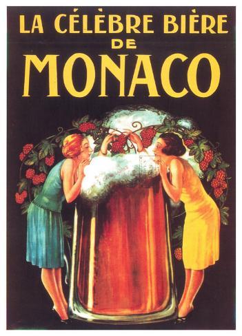 Bière De Monaco Art Print