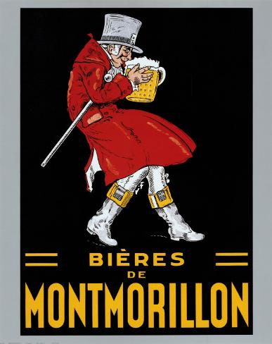 Bieres de Montmorillon Poster