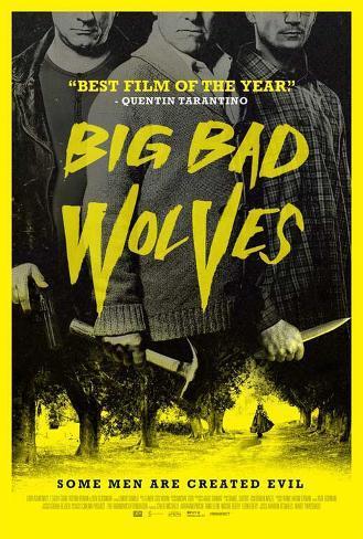 Big Bad Wolves Masterprint