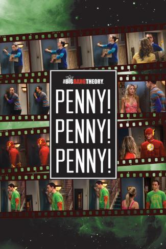 Big Bang Theory-Penny Penny Penny Poster