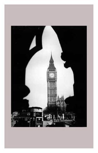 Big Ben and the Houses of Parliament, 1960's Art Print