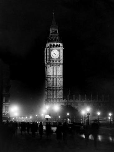 Big Ben circa 1936 Photographic Print