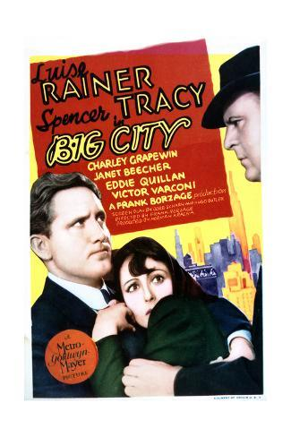 Big City - Movie Poster Reproduction Art Print