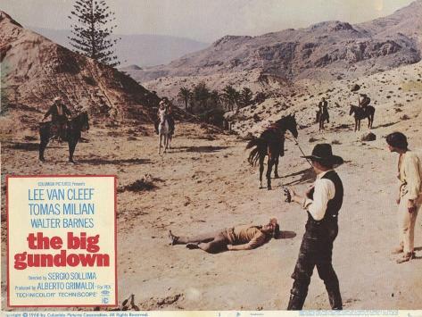 Big Gundown, 1968 Art Print