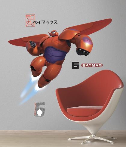 Big Hero 6 Baymax gigante (sticker murale) Decalcomania da muro