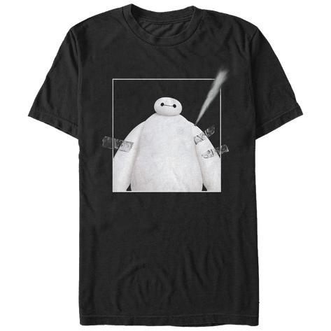 Big Hero 6- Baymax Taped Leaks T-Shirt