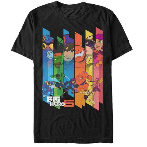 Big Hero 6- Hero Panels T-Shirt