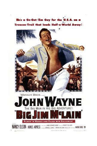 Big Jim Mclain Konstprint