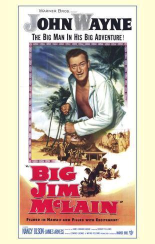 Big Jim McLain Masterprint