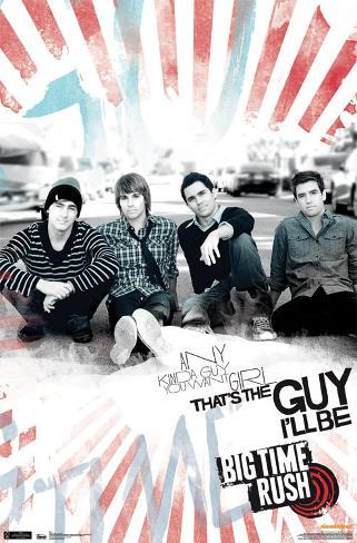 Big Time Rush - Any Guy Poster
