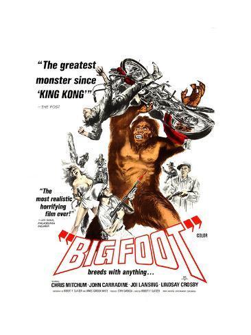 Bigfoot (AKA Big Foot), 1970 Photo