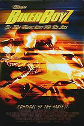 Biker Boyz Double-sided poster