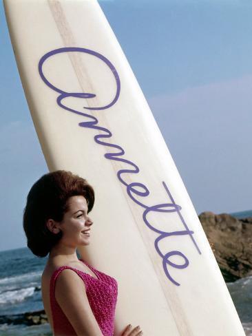 Bikini Beach, Annette Funicello, 1964 Fotografía